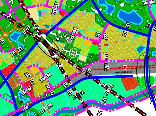 Bản đồ quy hoạch giao thông phường Phúc Diễn, Bắc Từ Liêm, Hà Nội - Ảnh 2.