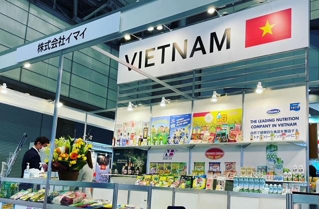 Thương hiệu nước giải khát Việt Nam xuất hiện nổi bật tại Foodex Japan 2021 - Ảnh 1.