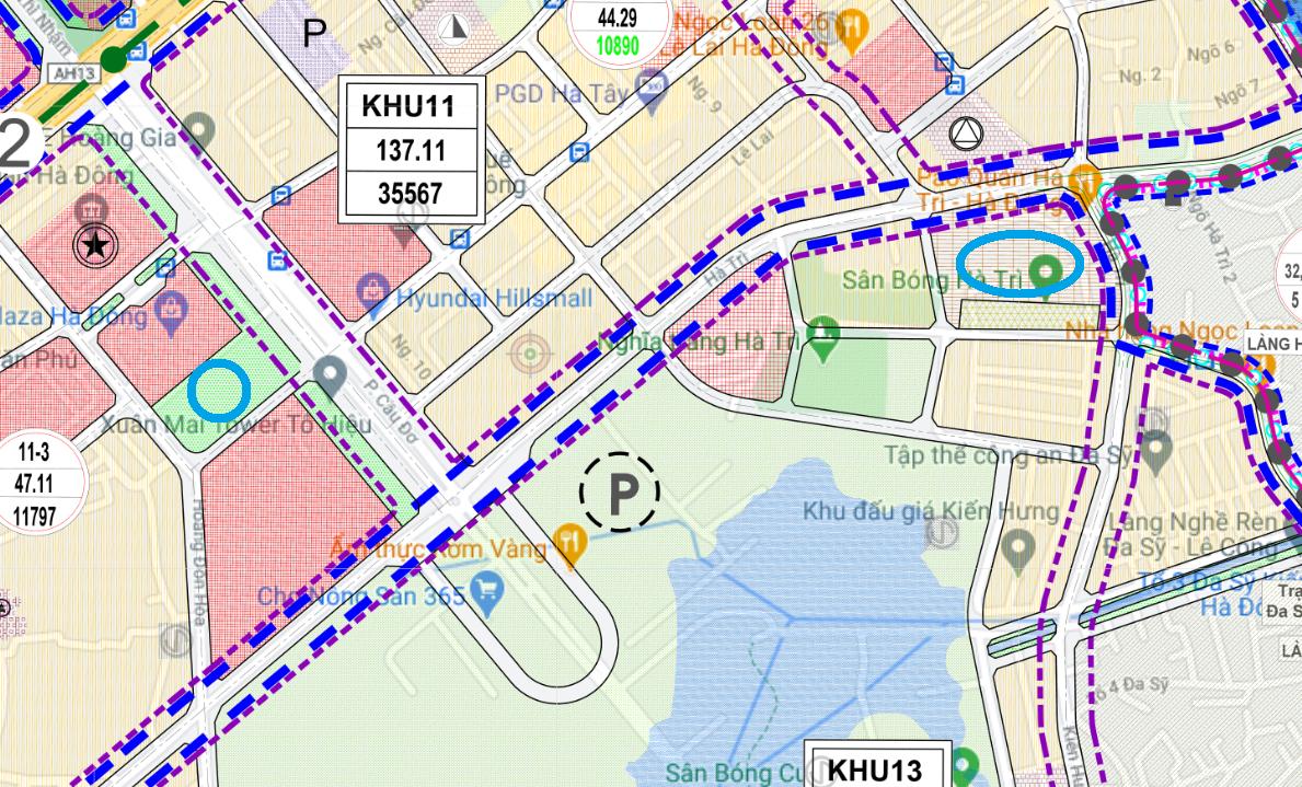 Đất dính quy hoạch ở phường Hà Cầu, Hà Đông, Hà Nội - Ảnh 1.