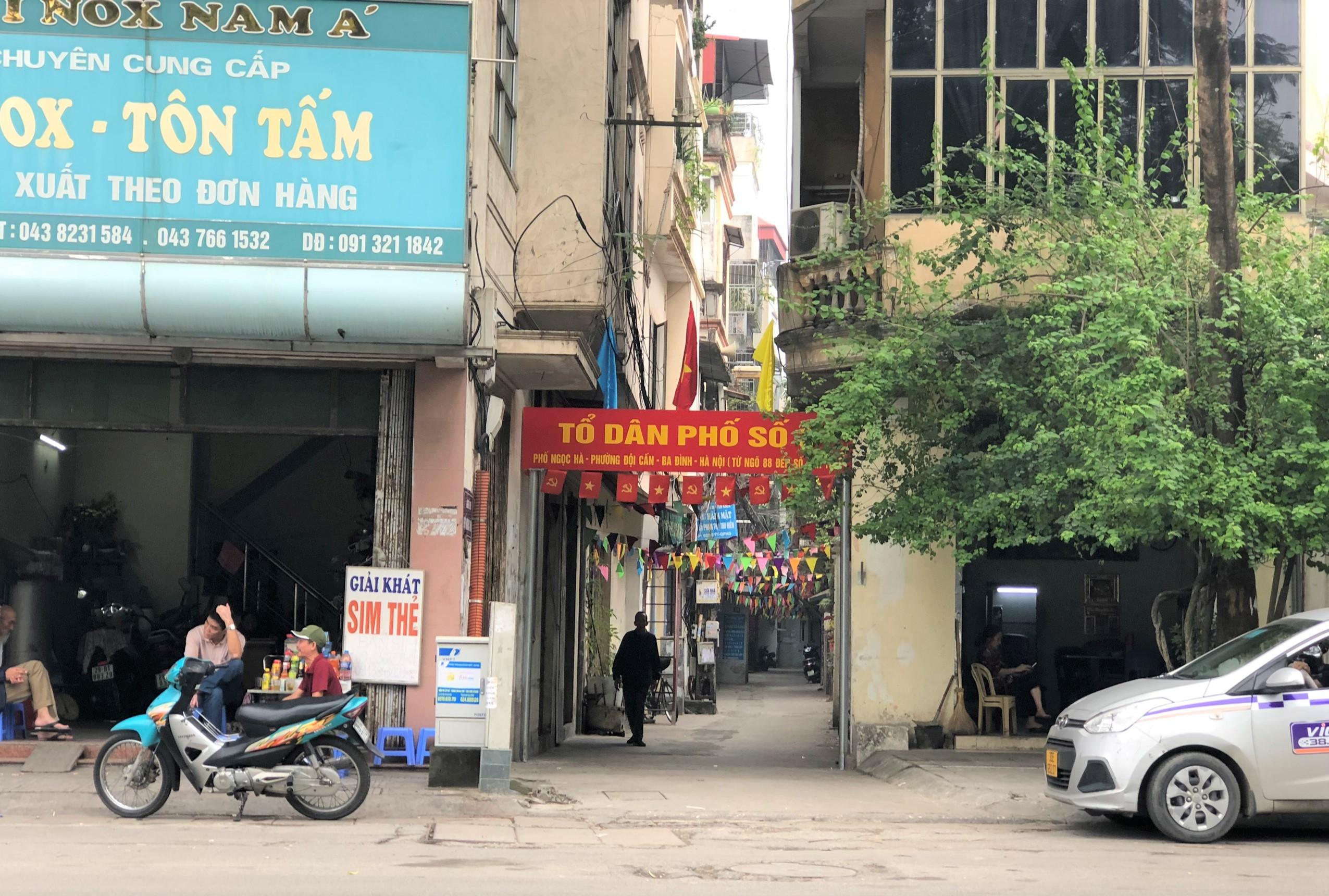 Đường sắp mở theo quy hoạch ở phường Ngọc Hà, Ba Đình, Hà Nội (phần 2): Đường nối ngõ 279 Đội Cấn - phố Ngọc Hà  - Ảnh 12.