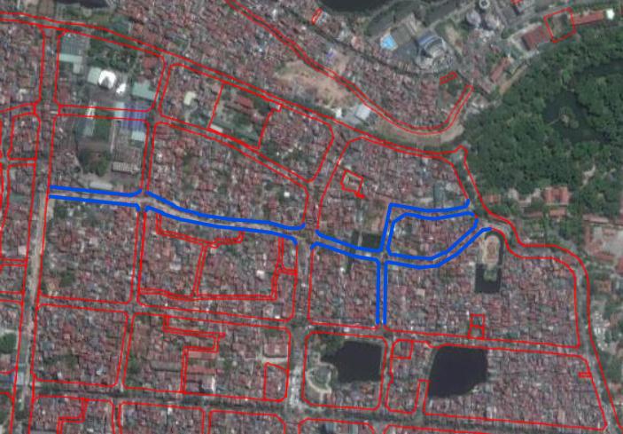 Đường sắp mở theo quy hoạch ở phường Ngọc Hà, Ba Đình, Hà Nội (phần 3): Hai đường nối ngõ Đội Cấn - phố Ngọc Hà  - Ảnh 2.
