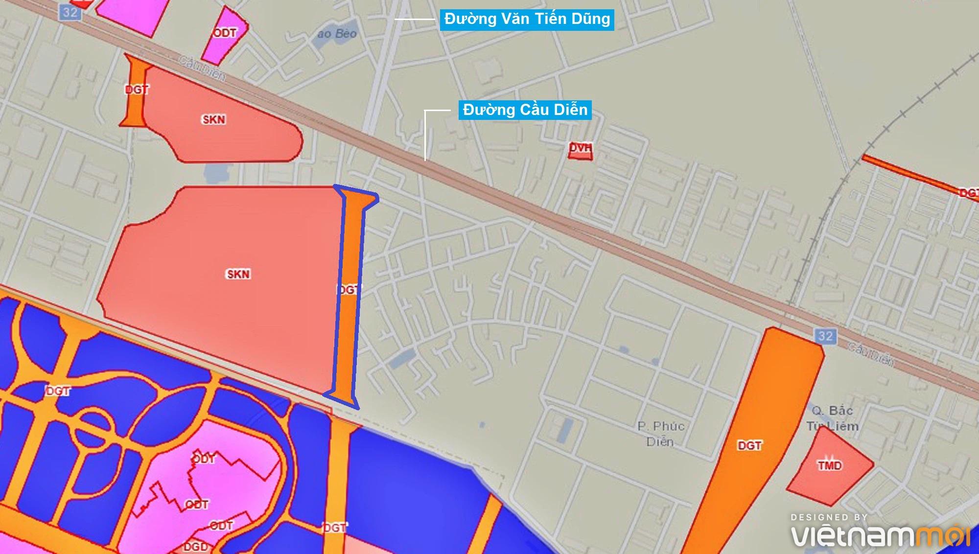 Những khu đất sắp thu hồi để mở đường ở phường Phúc Diễn, Bắc Từ Liêm, Hà Nội - Ảnh 1.