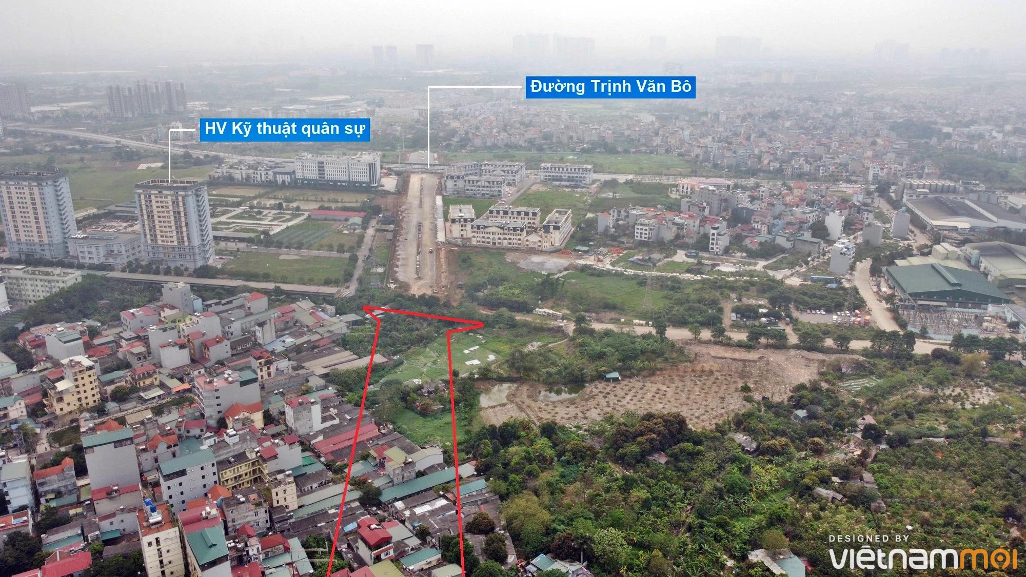 Những khu đất sắp thu hồi để mở đường ở phường Phúc Diễn, Bắc Từ Liêm, Hà Nội - Ảnh 3.