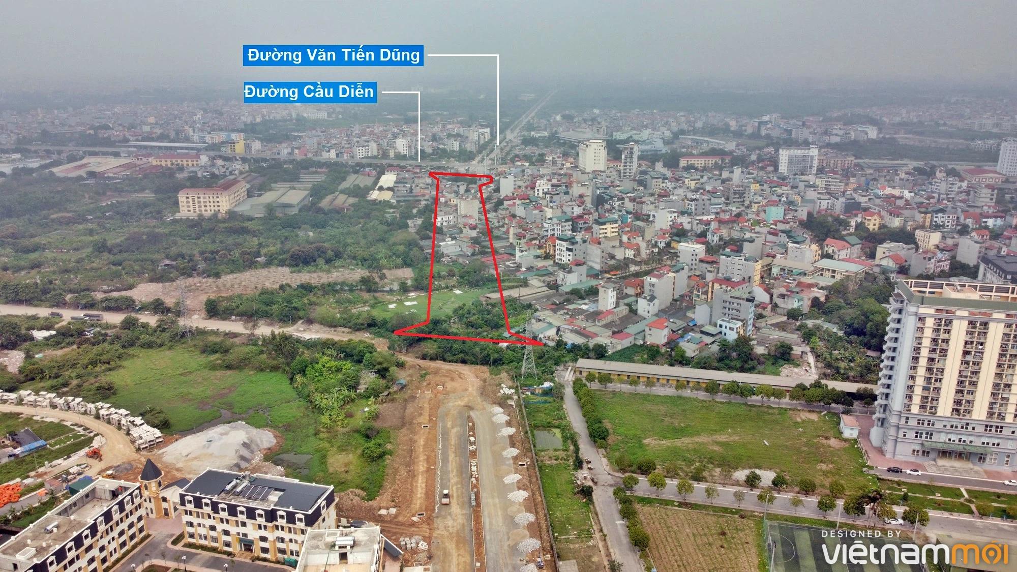 Những khu đất sắp thu hồi để mở đường ở phường Phúc Diễn, Bắc Từ Liêm, Hà Nội - Ảnh 5.