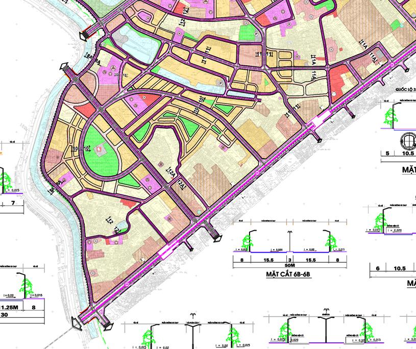 Bản đồ quy hoạch giao thông phường Mộ Lao, Hà Đông, Hà Nội - Ảnh 2.