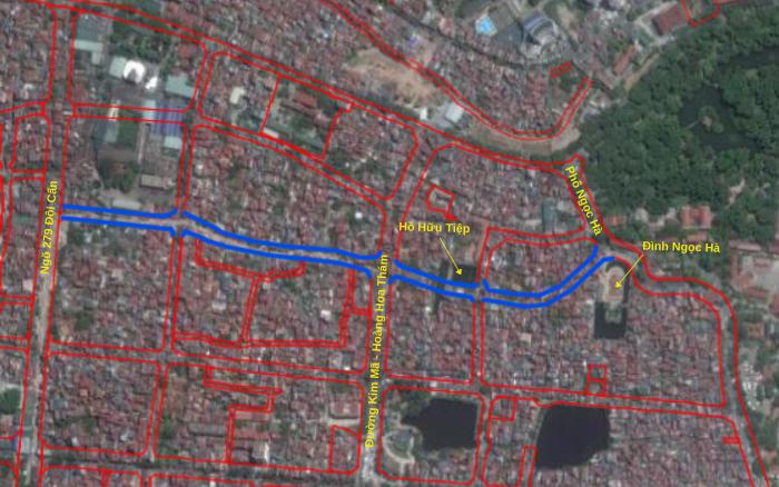 Đường sắp mở theo quy hoạch ở phường Ngọc Hà, Ba Đình, Hà Nội (phần 3): Hai đường nối ngõ Đội Cấn - phố Ngọc Hà  - Ảnh 3.