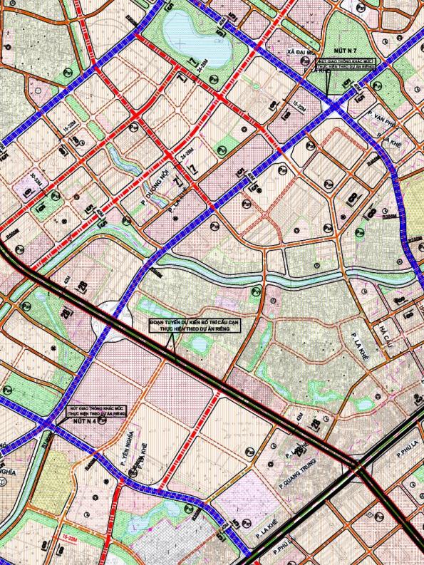 Bản đồ quy hoạch giao thông phường La Khê, Hà Đông, Hà Nội - Ảnh 2.