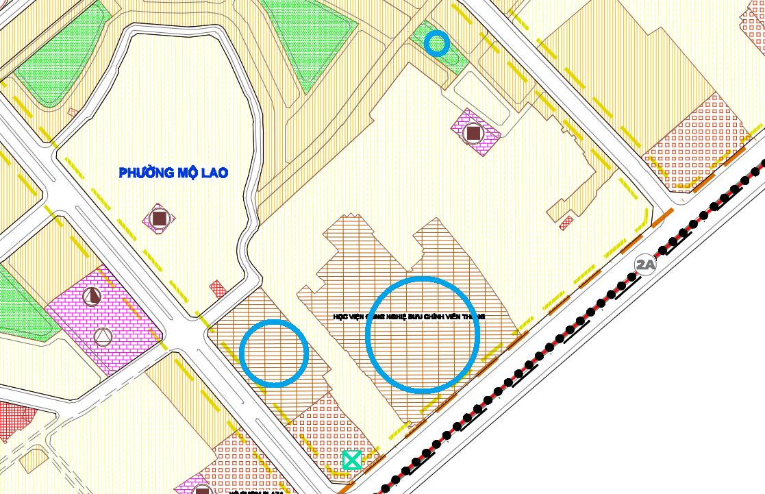 Đất dính quy hoạch ở phường Mộ Lao, Hà Đông, Hà Nội - Ảnh 1.