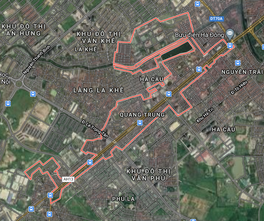 Bản đồ quy hoạch sử dụng đất phường Quang Trung, Hà Đông, Hà Nội - Ảnh 1.