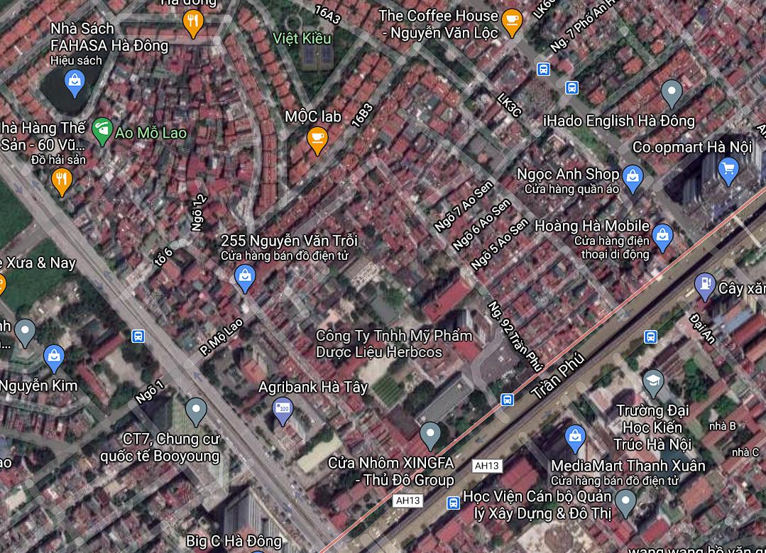 Đất dính quy hoạch ở phường Mộ Lao, Hà Đông, Hà Nội - Ảnh 2.