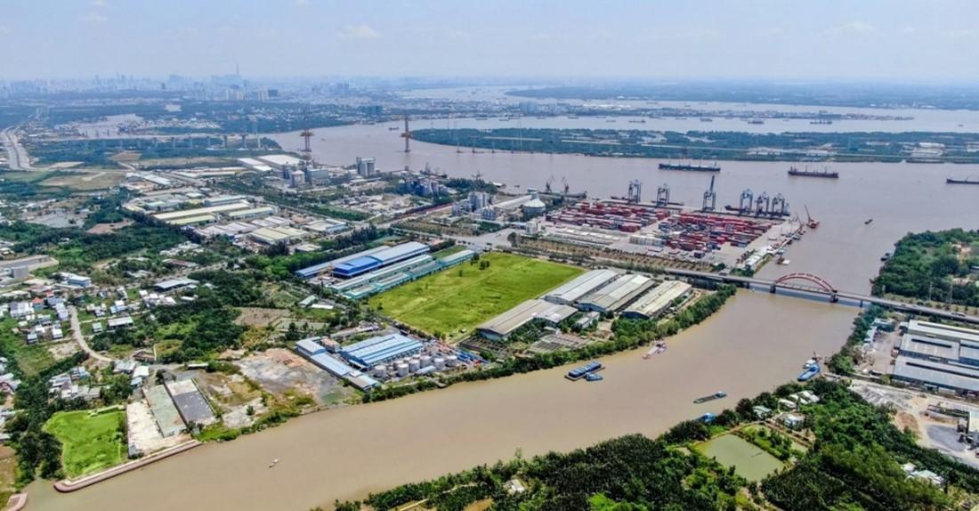 Đề xuất phát triển khu siêu kinh tế 32.000 ha, BĐS Cần Giuộc tiếp tục hưởng lợi - Ảnh 1.