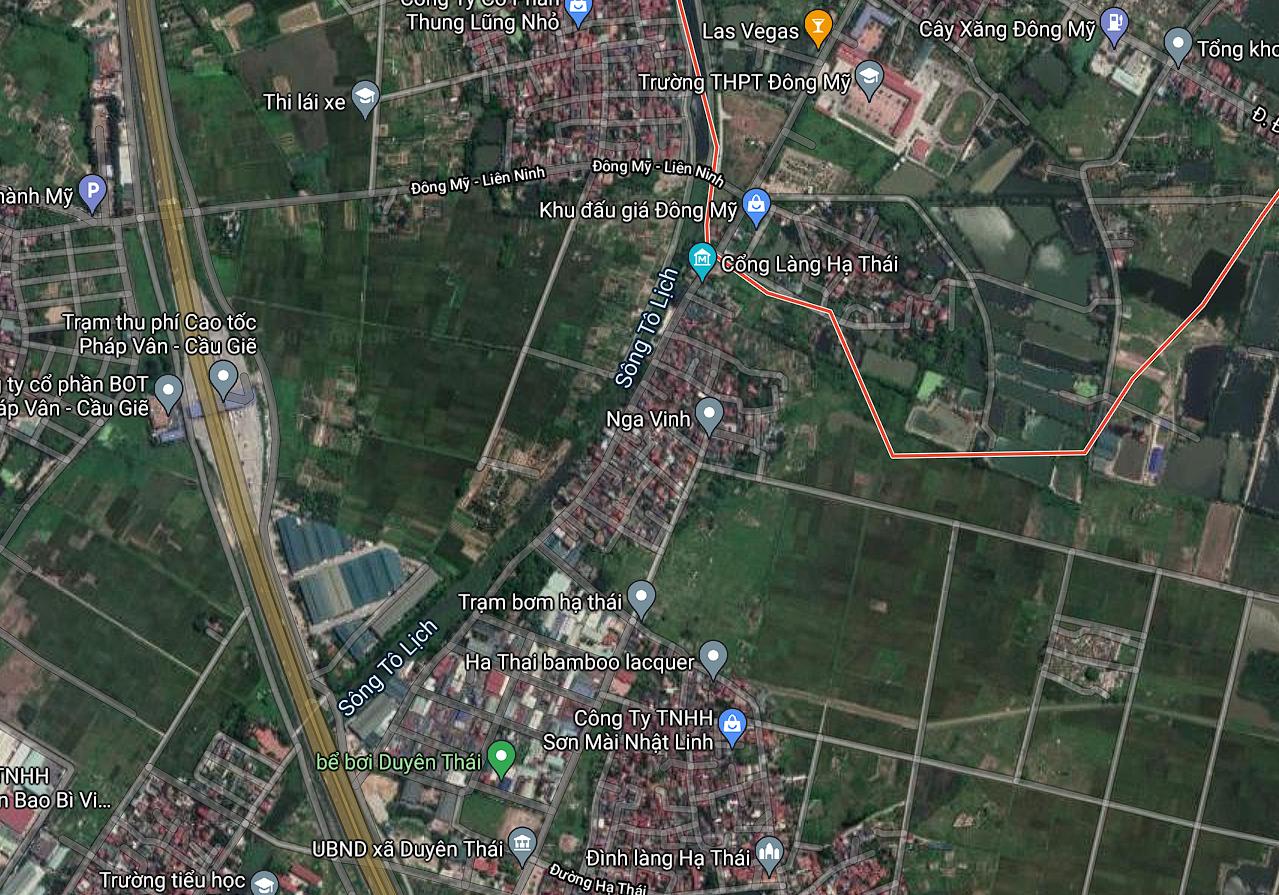 Đường sẽ mở ở xã Đông Mỹ, Thanh Trì, Hà Nội - Ảnh 2.
