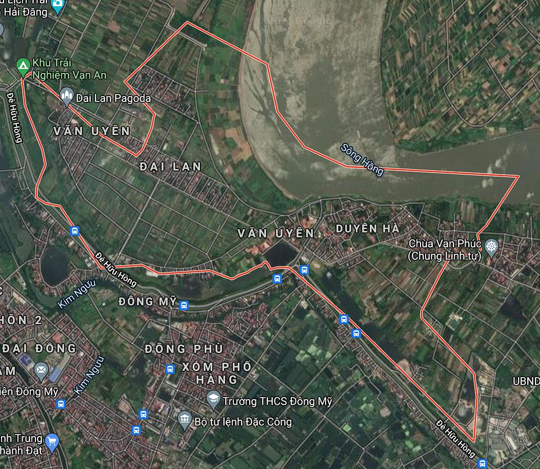 Kế hoạch sử dụng đất xã Duyên Hà, Thanh Trì, Hà Nội năm 2021 - Ảnh 1.