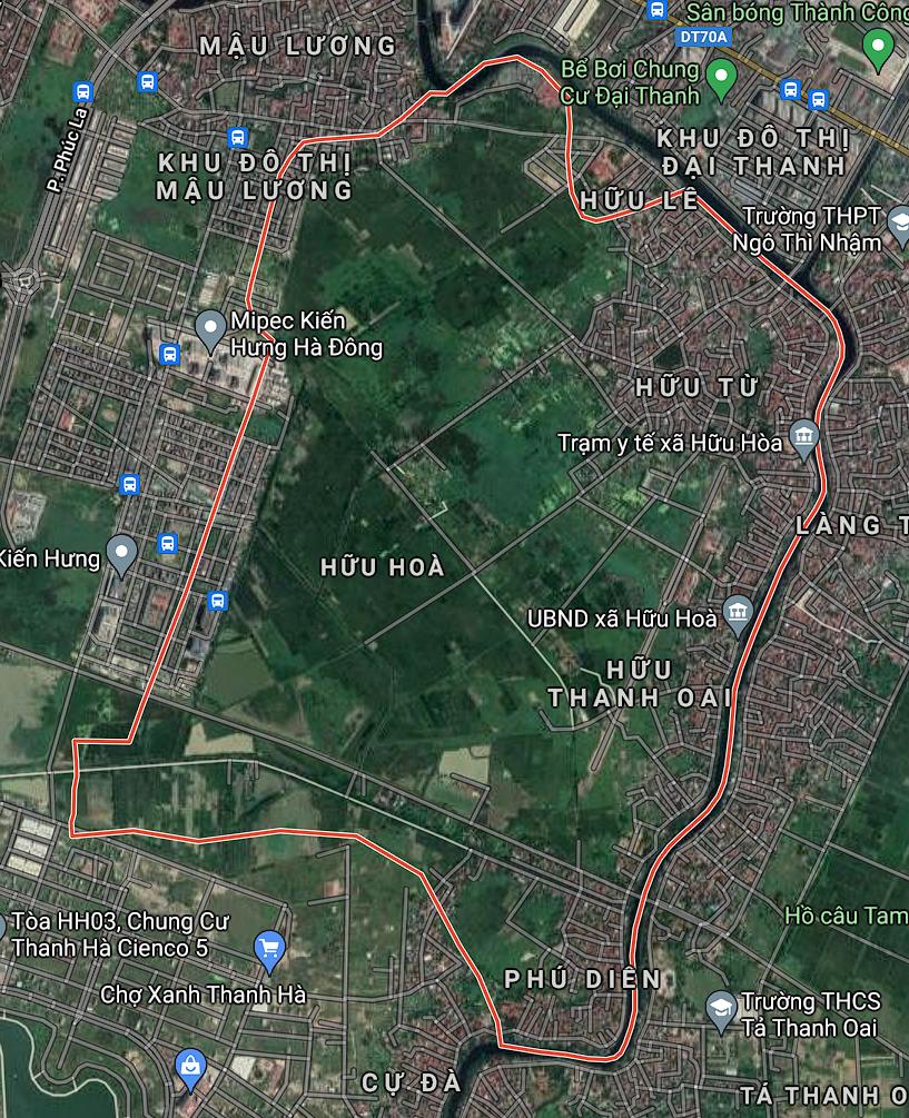 Kế hoạch sử dụng đất xã Hữu Hòa, Thanh Trì, Hà Nội năm 2021 - Ảnh 1.
