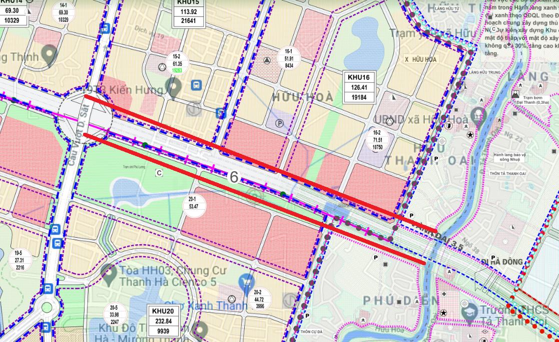 Đường sẽ mở ở xã Hữu Hòa, Thanh Trì, Hà Nội - Ảnh 1.