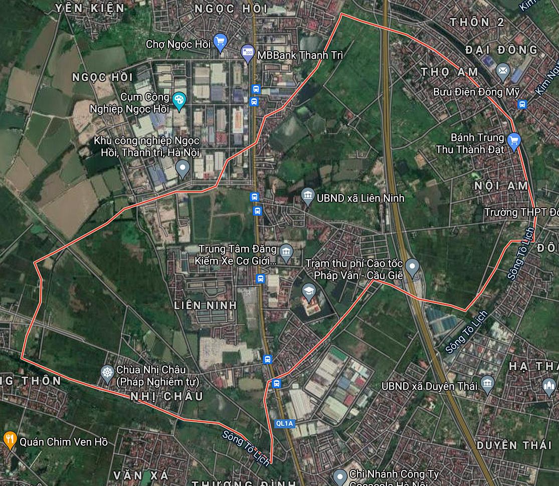 Kế hoạch sử dụng đất xã Liên Ninh, Thanh Trì, Hà Nội năm 2021 - Ảnh 2.