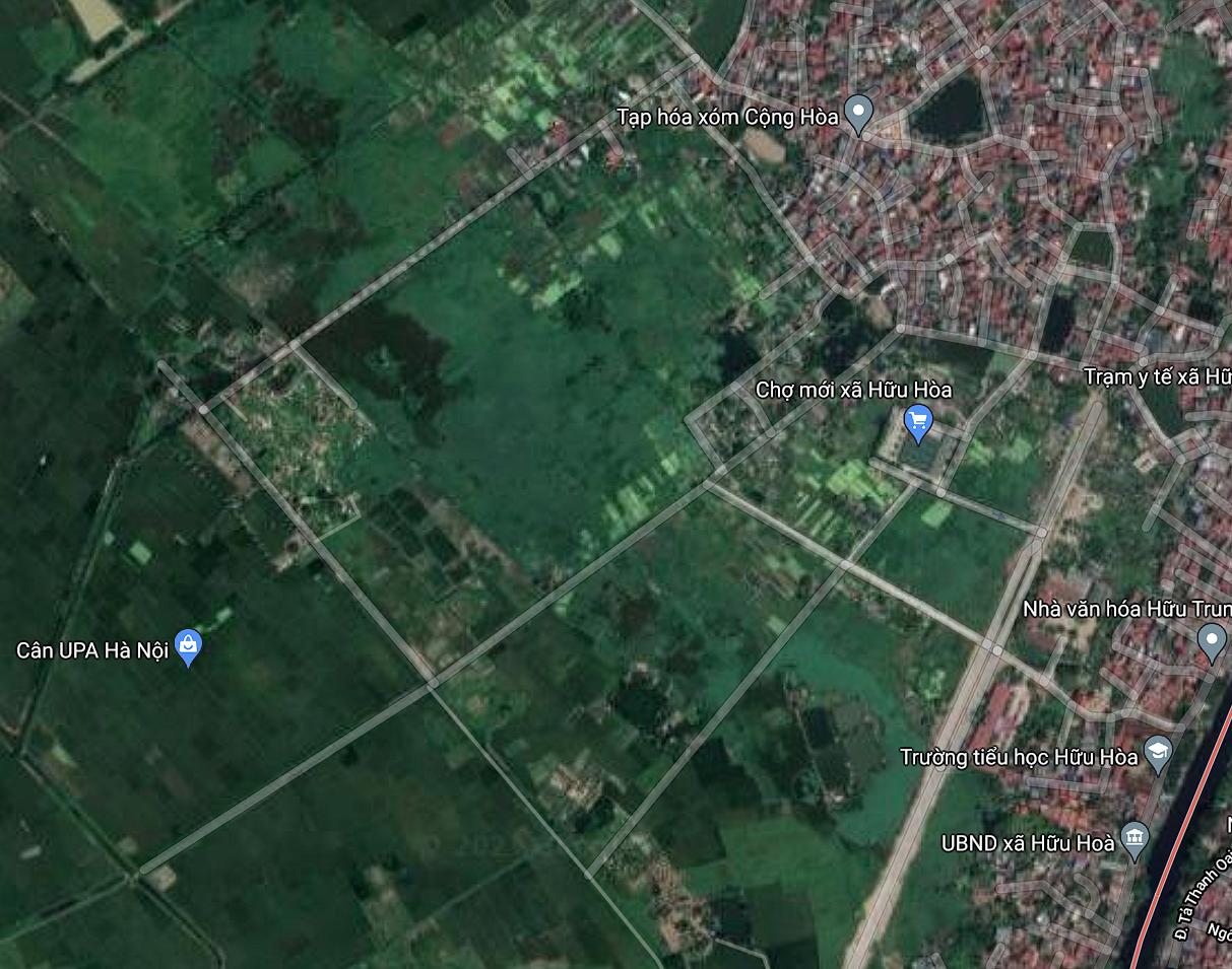 Đất dính quy hoạch ở xã Hữu Hòa, Thanh Trì, Hà Nội - Ảnh 2.