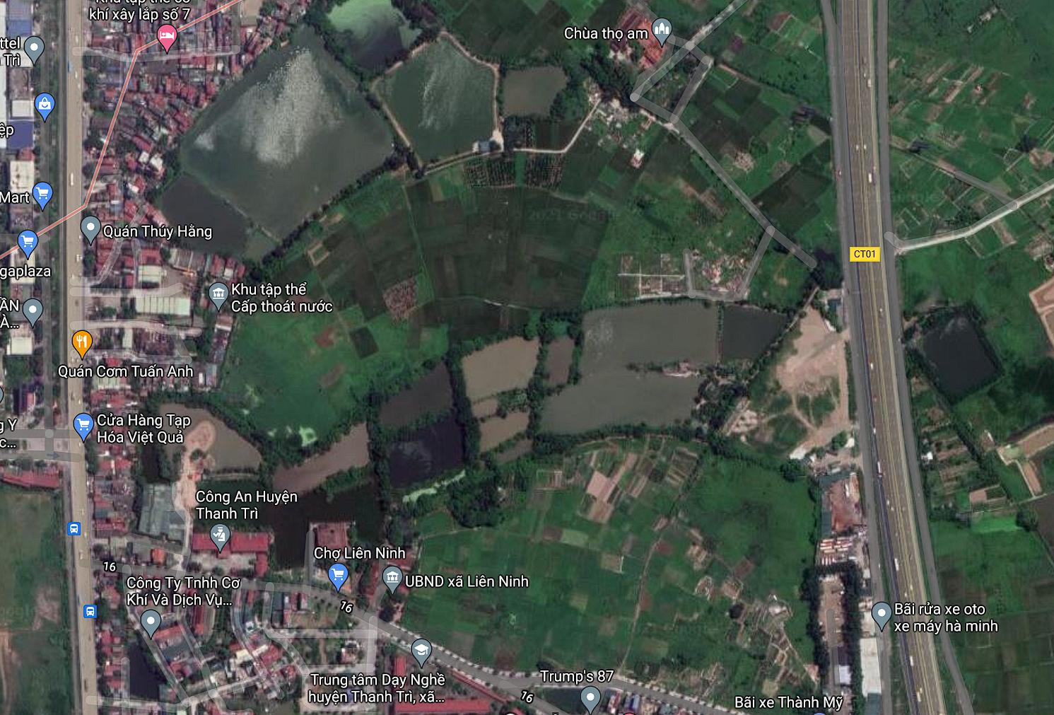 Đất dính quy hoạch ở xã Liên Ninh, Thanh Trì, Hà Nội - Ảnh 2.