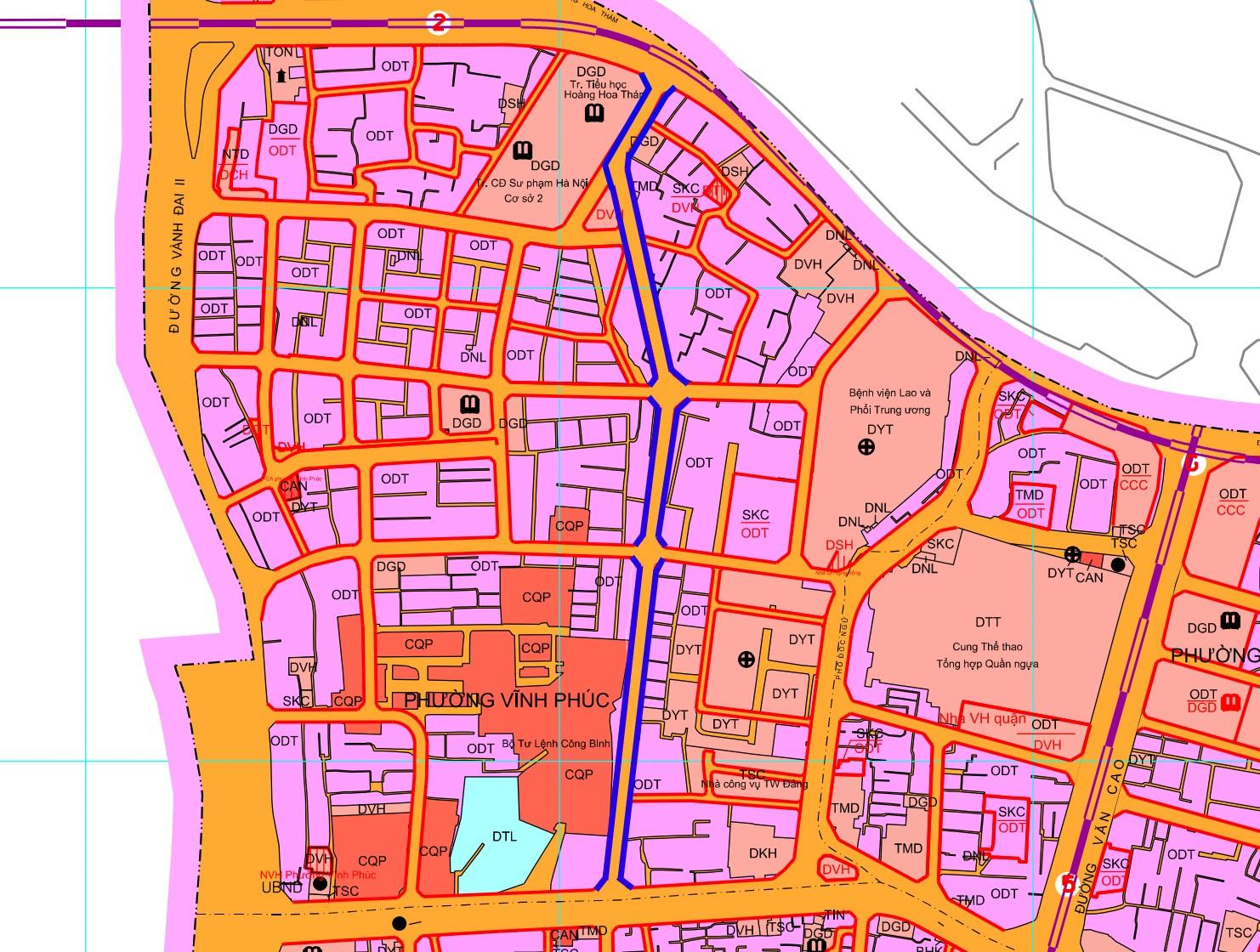 Những khu đất sắp thu hồi ở phường Vĩnh Phúc, quận Ba Đình (phần 2): Đường nối Đội Cấn - Vĩnh Phúc   - Ảnh 1.