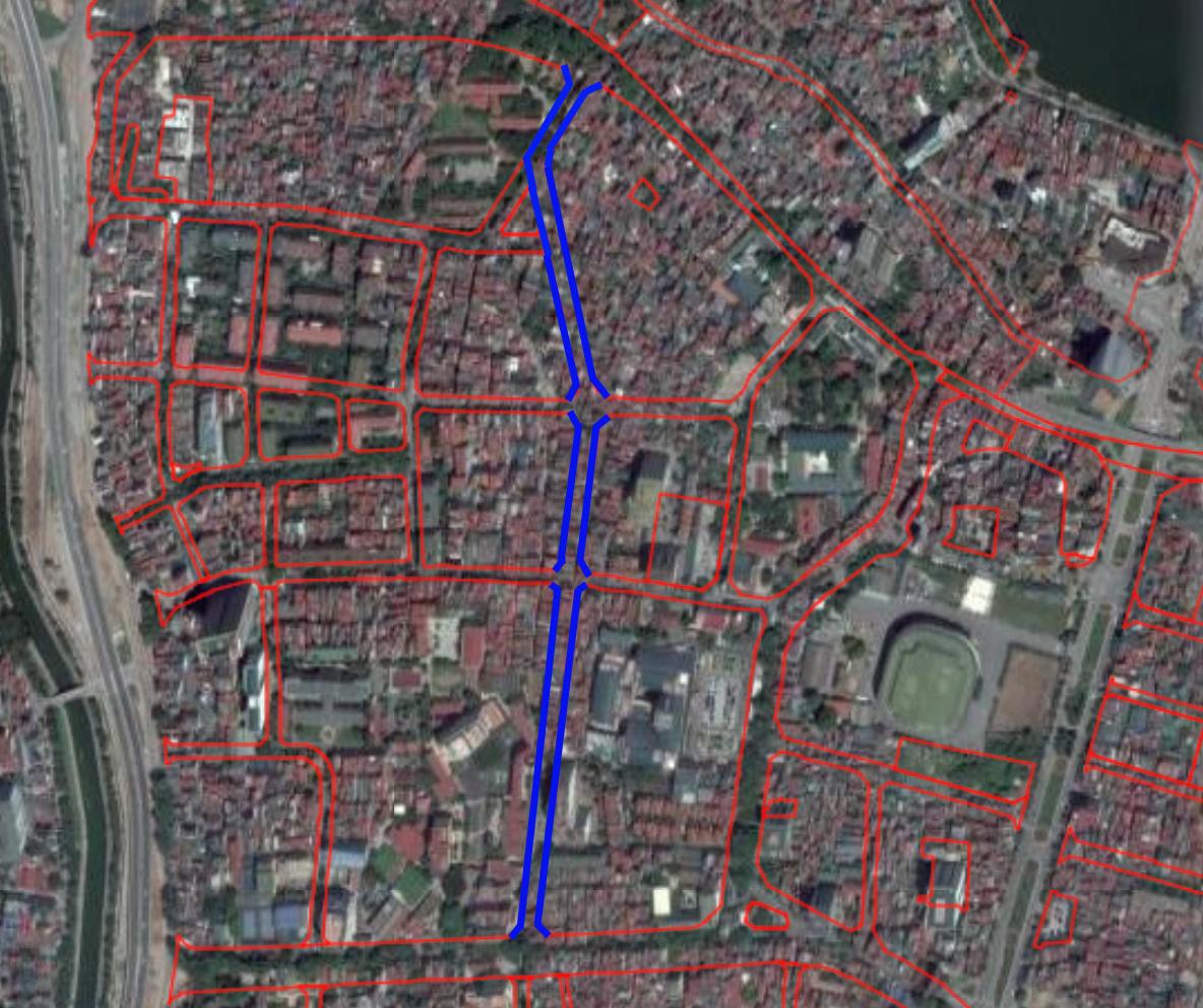 Những khu đất sắp thu hồi ở phường Vĩnh Phúc, quận Ba Đình (phần 2): Đường nối Đội Cấn - Vĩnh Phúc   - Ảnh 2.