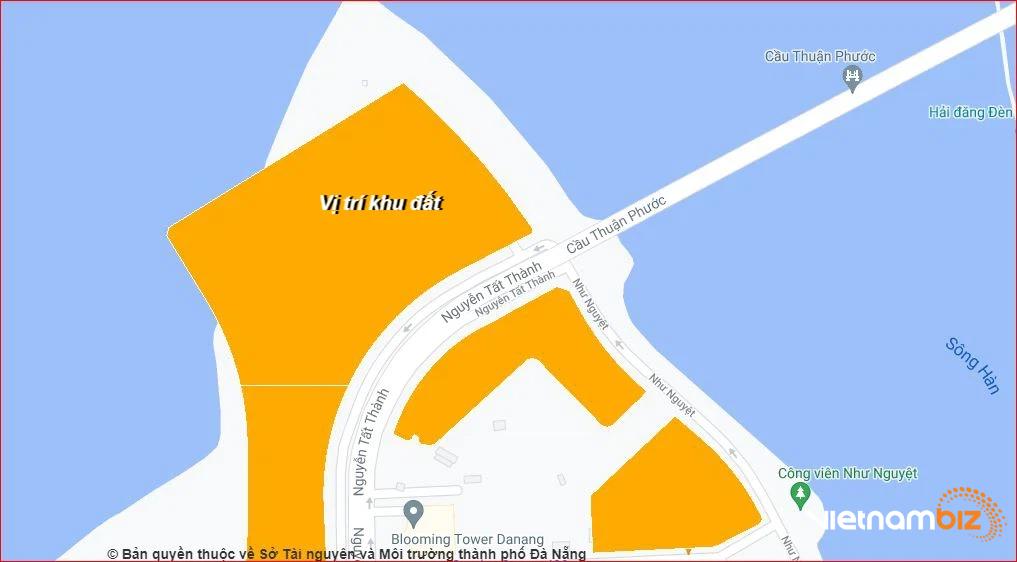 Vị trí khu đất dự kiến Đà Nẵng kêu gọi làm nhà hát thành phố - Ảnh 1.