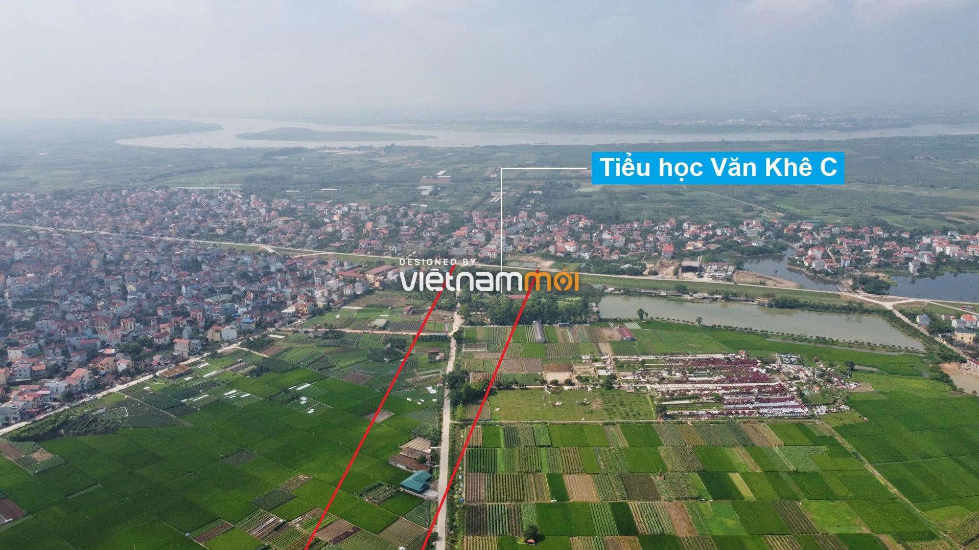 Đường Vành đai 4 sẽ mở theo quy hoạch qua huyện Mê Linh, Hà Nội - Ảnh 1.