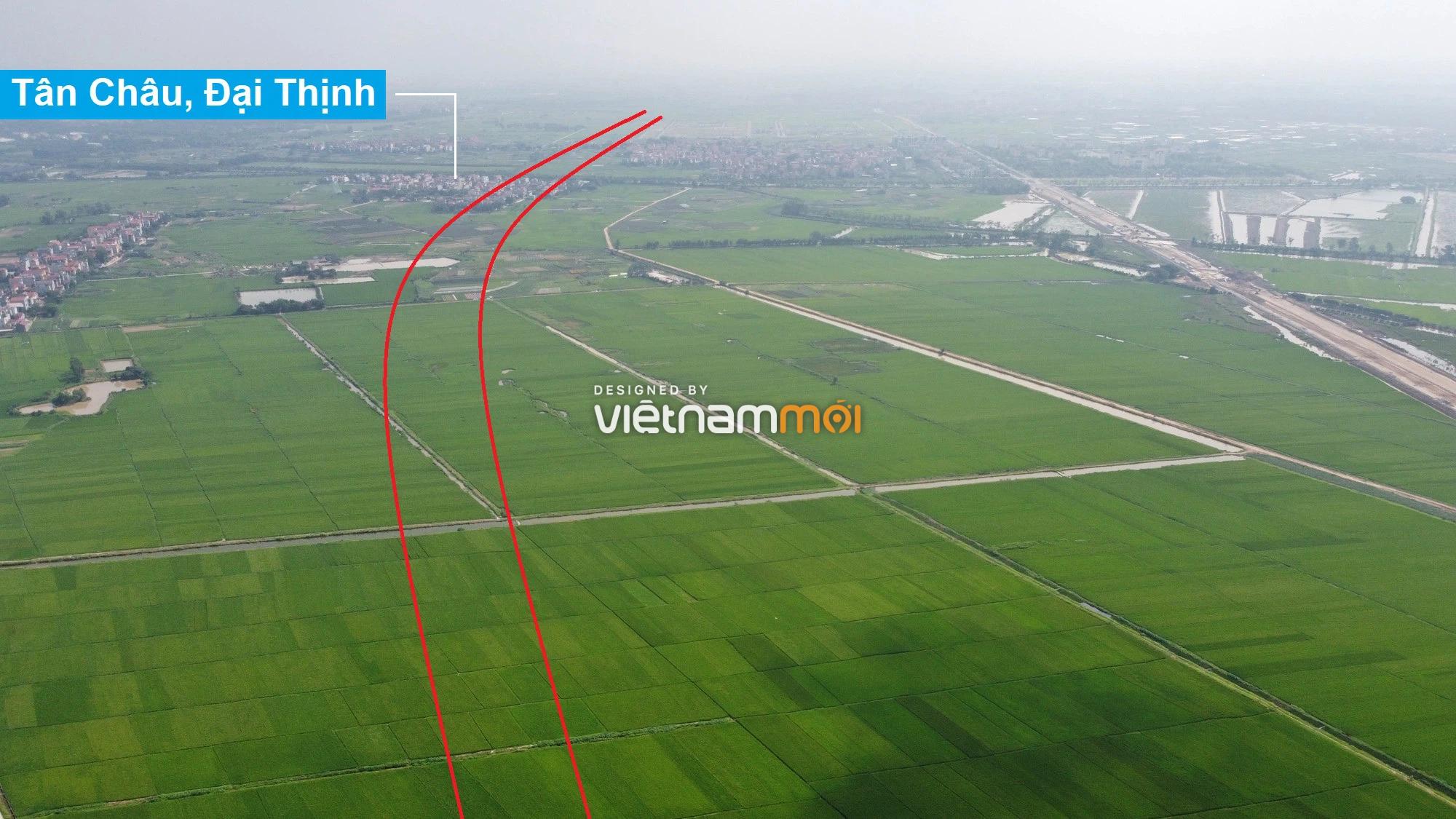 Đường Vành đai 4 sẽ mở theo quy hoạch qua huyện Mê Linh, Hà Nội - Ảnh 2.