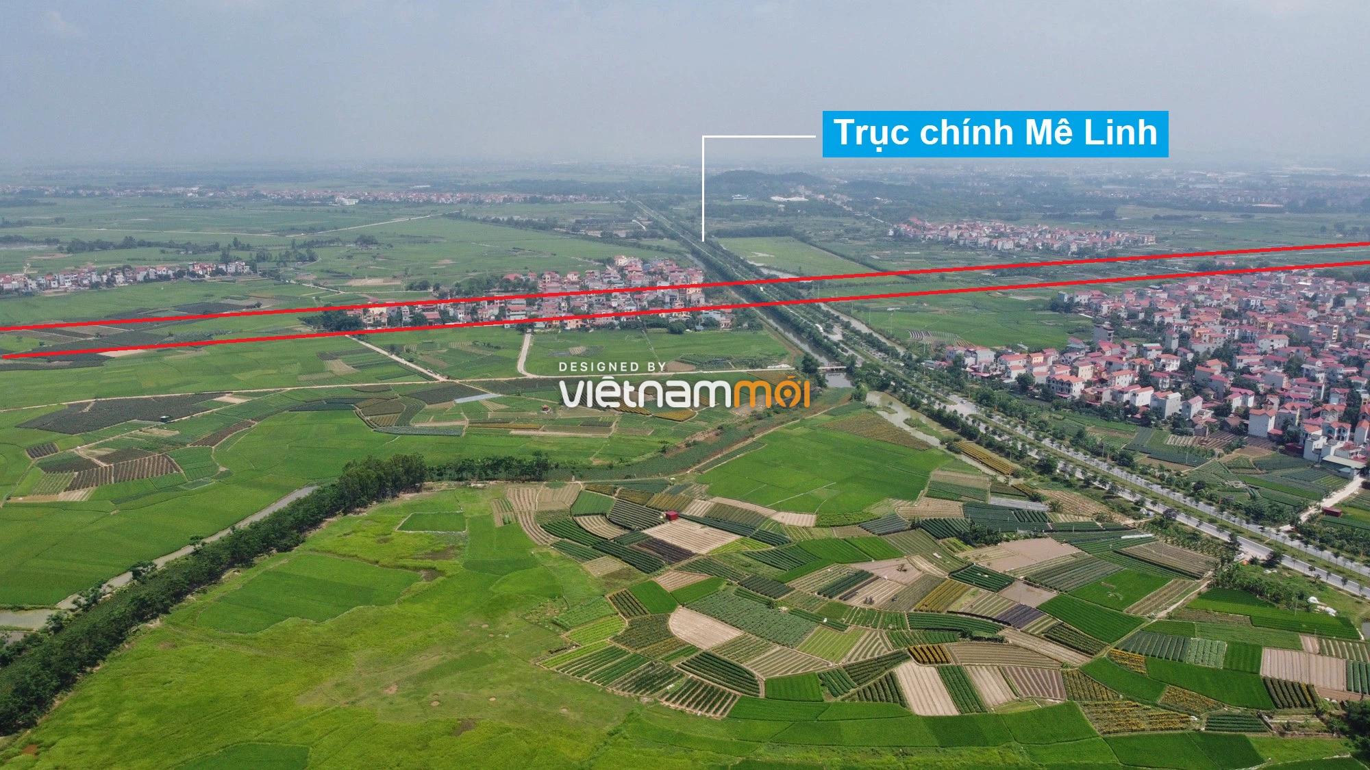 Đường Vành đai 4 sẽ mở theo quy hoạch qua huyện Mê Linh, Hà Nội - Ảnh 3.