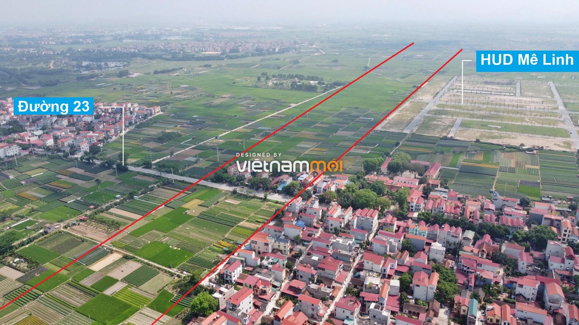 Đường Vành đai 4 sẽ mở theo quy hoạch qua huyện Mê Linh, Hà Nội - Ảnh 6.