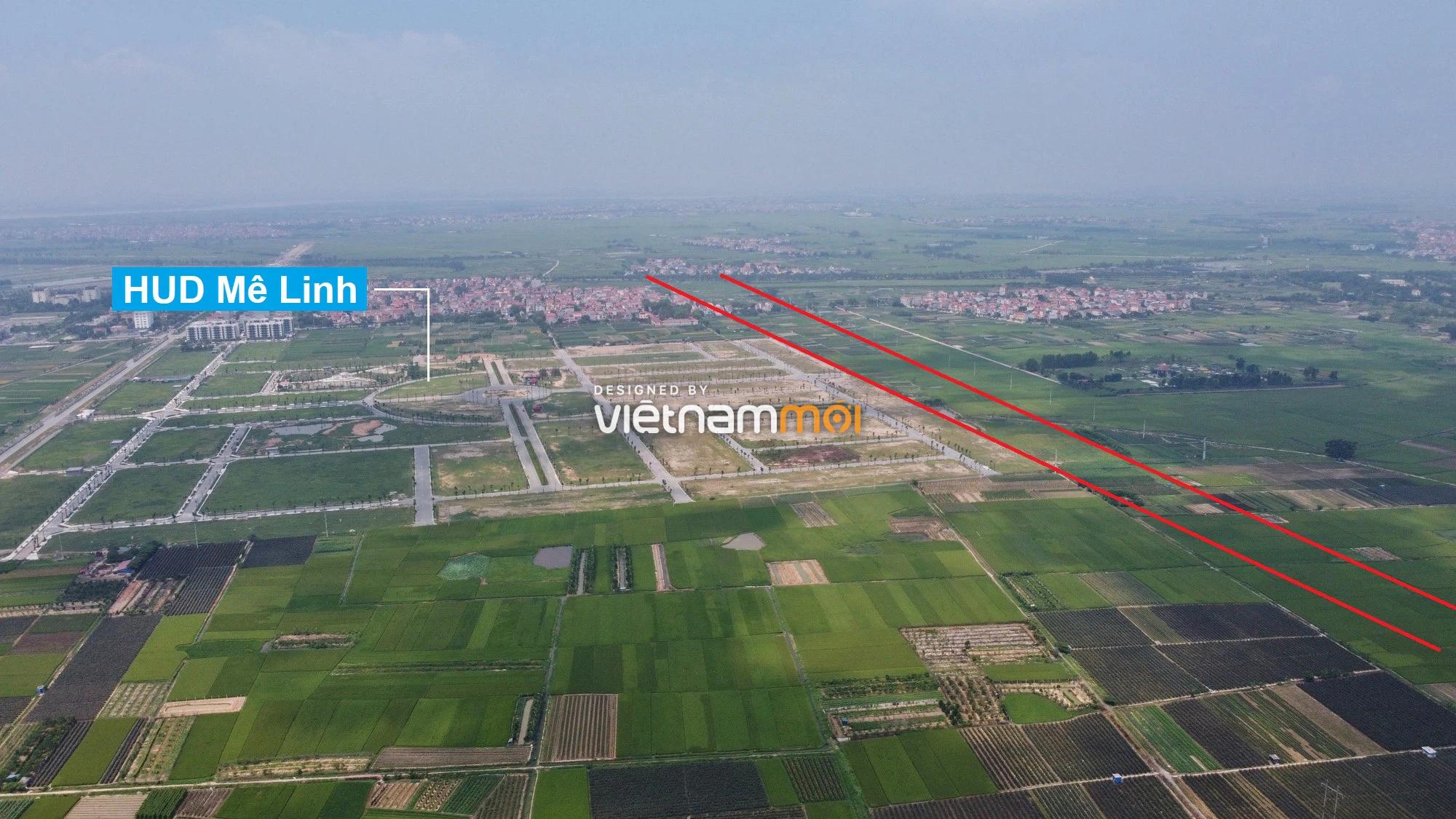 Đường Vành đai 4 sẽ mở theo quy hoạch qua huyện Mê Linh, Hà Nội - Ảnh 7.