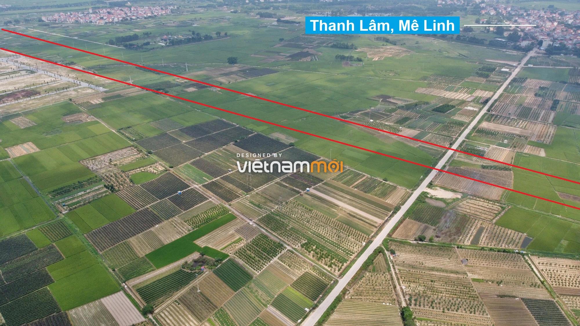 Đường Vành đai 4 sẽ mở theo quy hoạch qua huyện Mê Linh, Hà Nội - Ảnh 8.