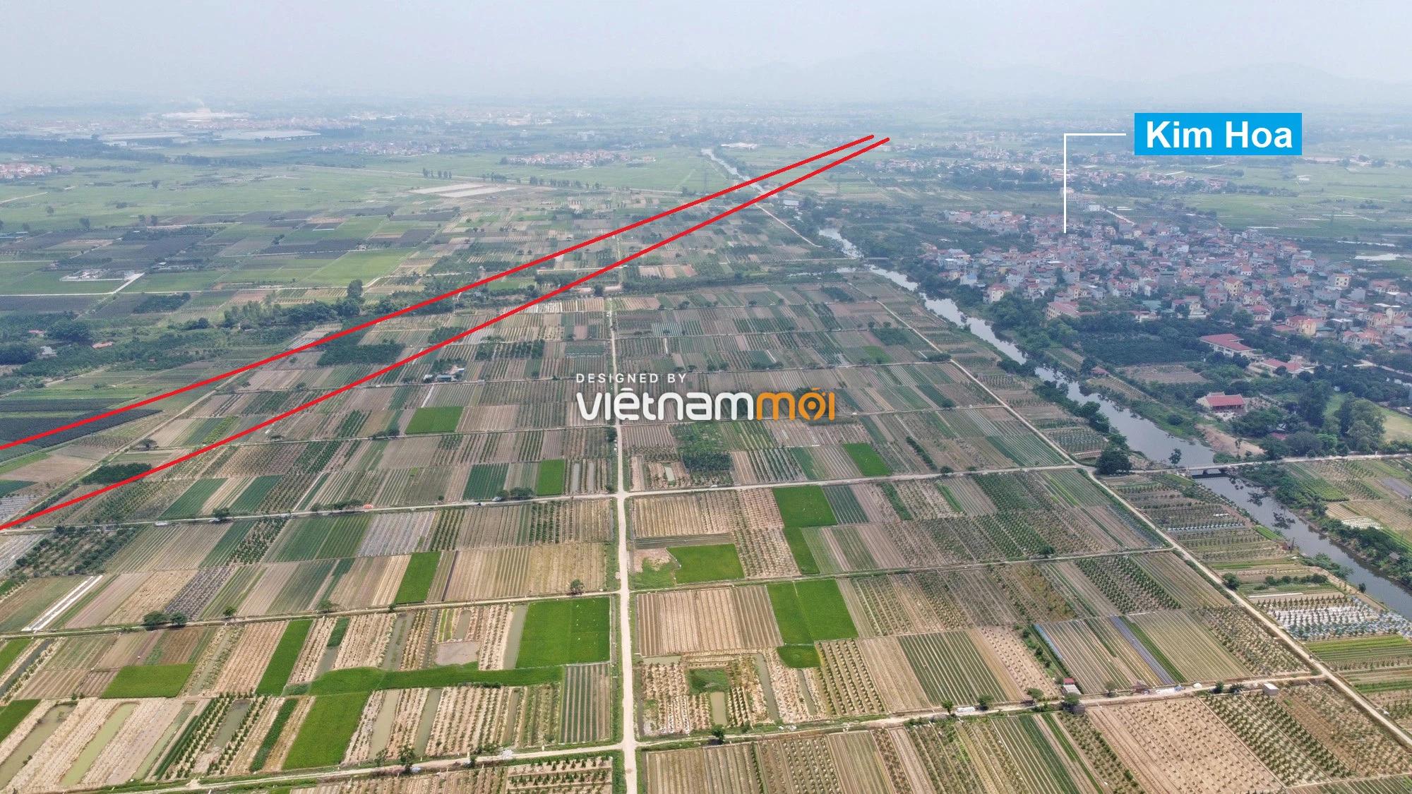Đường Vành đai 4 sẽ mở theo quy hoạch qua huyện Mê Linh, Hà Nội - Ảnh 9.