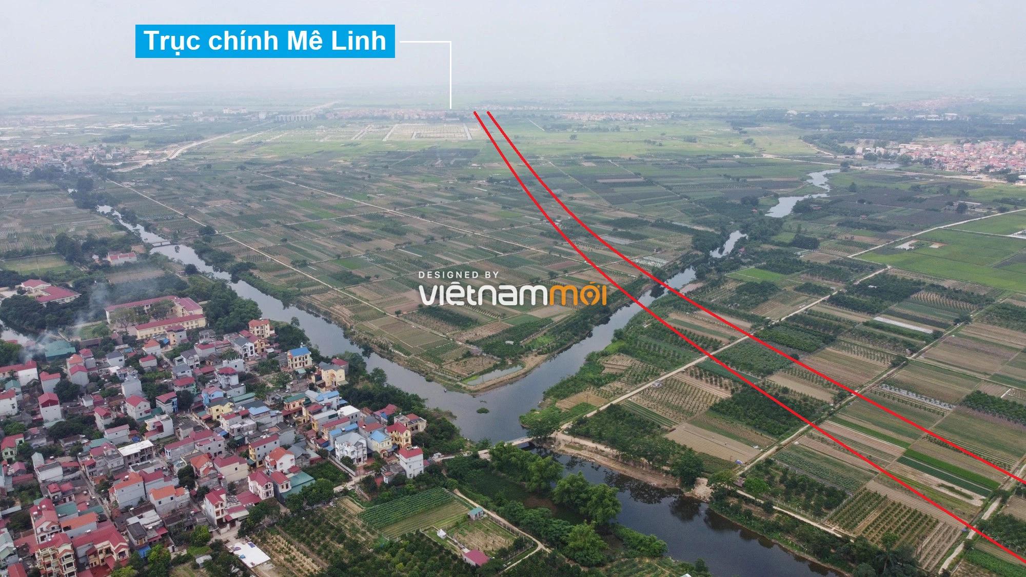 Đường Vành đai 4 sẽ mở theo quy hoạch qua huyện Mê Linh, Hà Nội - Ảnh 10.