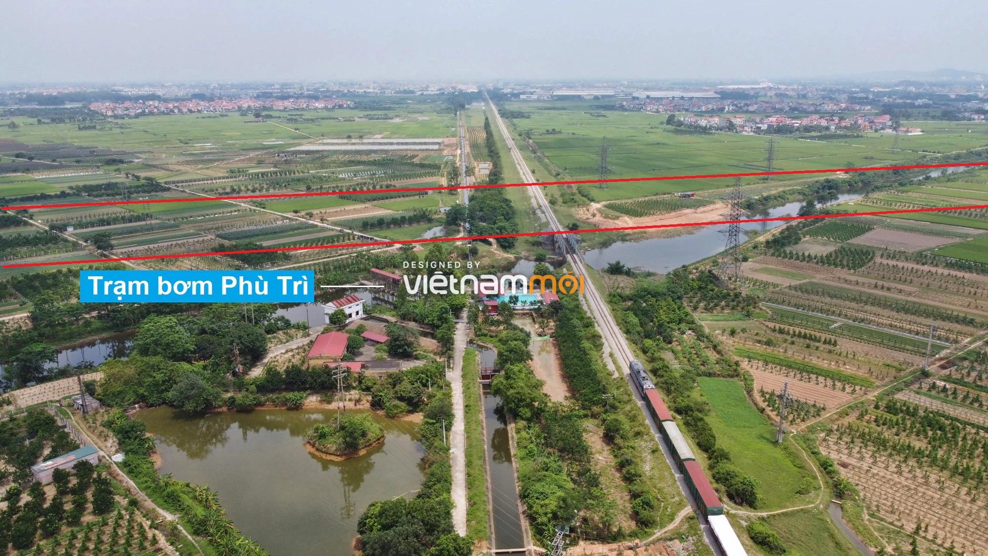 Đường Vành đai 4 sẽ mở theo quy hoạch qua huyện Mê Linh, Hà Nội - Ảnh 11.