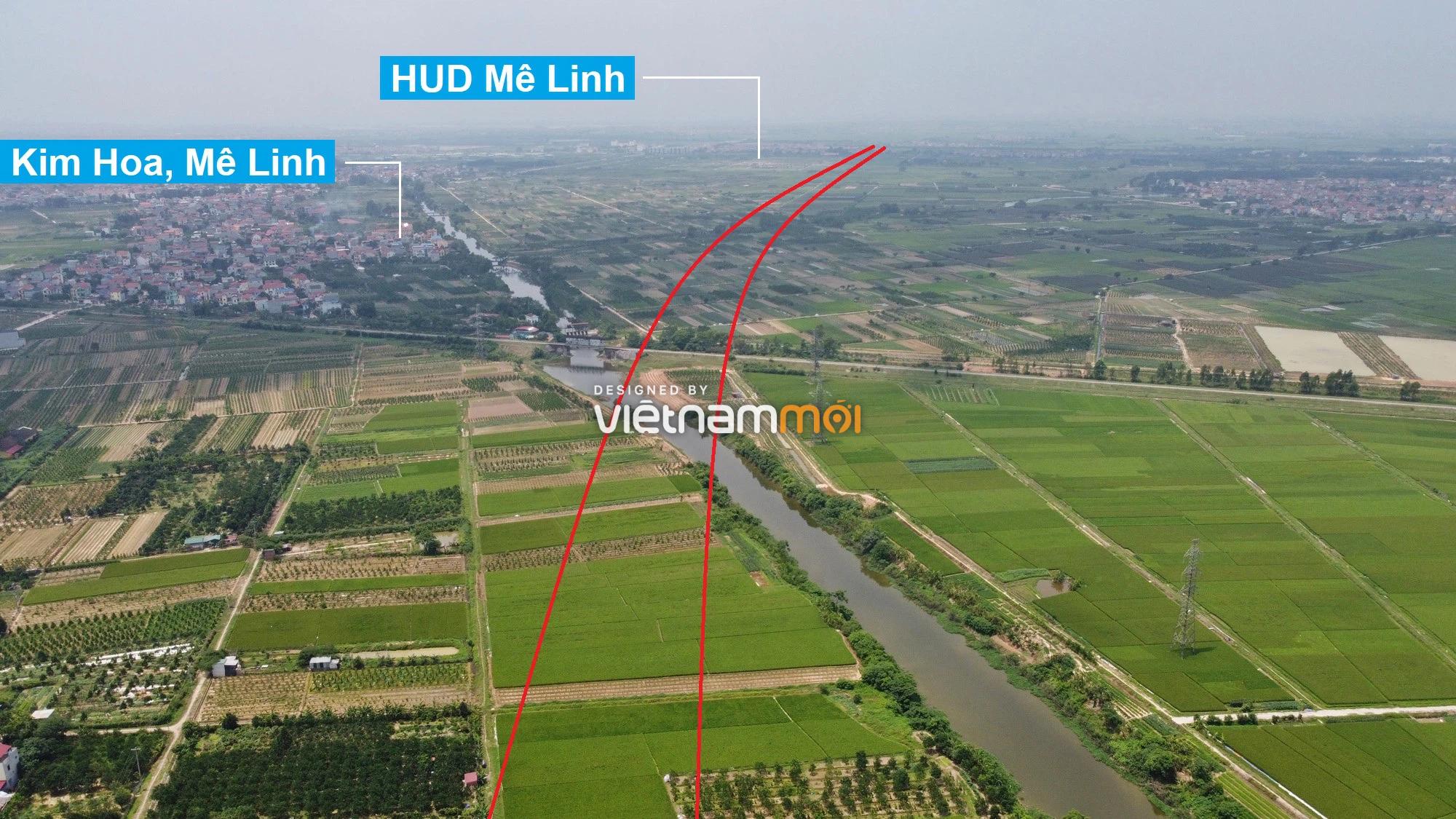 Đường Vành đai 4 sẽ mở theo quy hoạch qua huyện Mê Linh, Hà Nội - Ảnh 12.