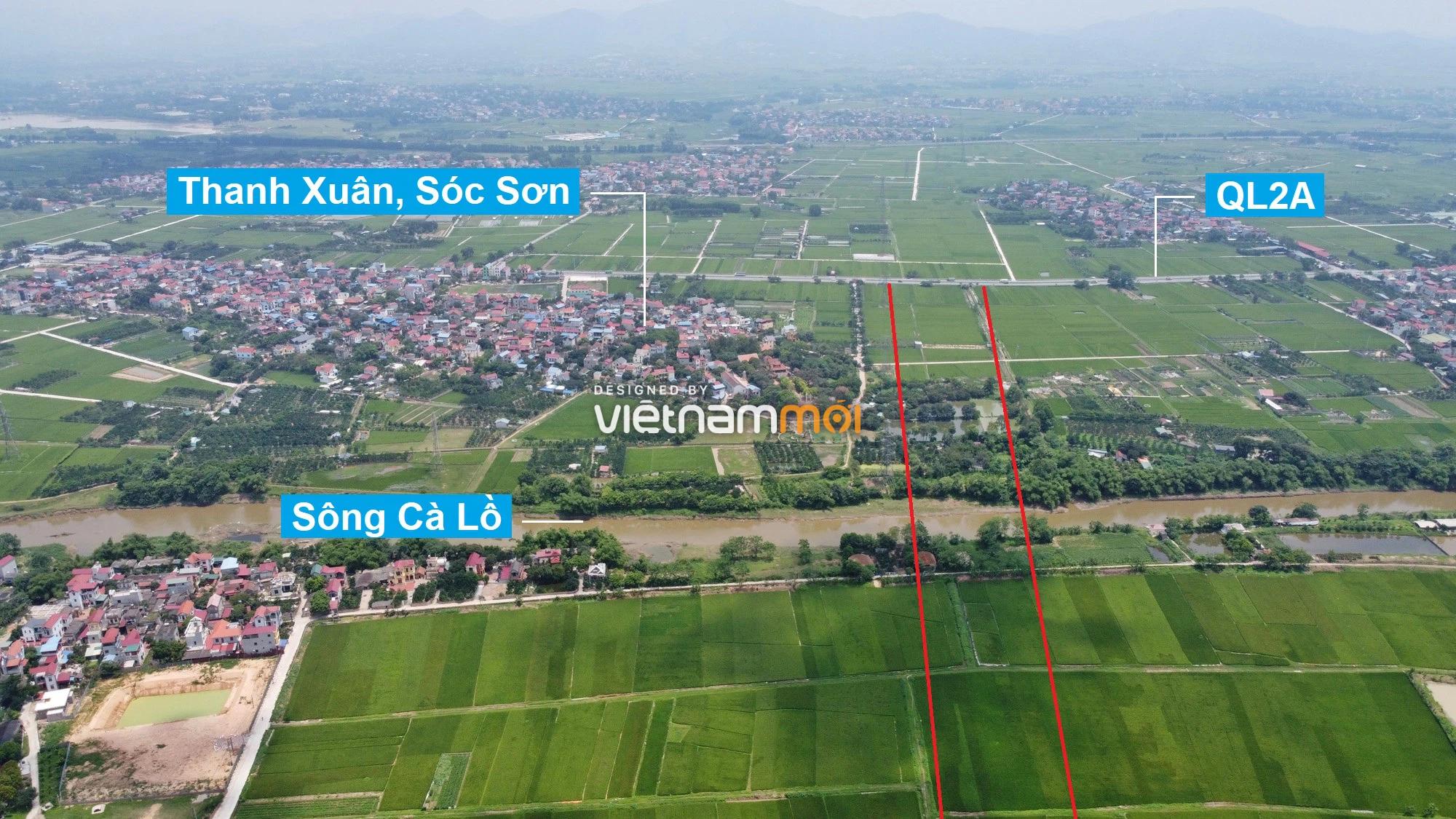 Đường Vành đai 4 sẽ mở theo quy hoạch qua huyện Mê Linh, Hà Nội - Ảnh 16.