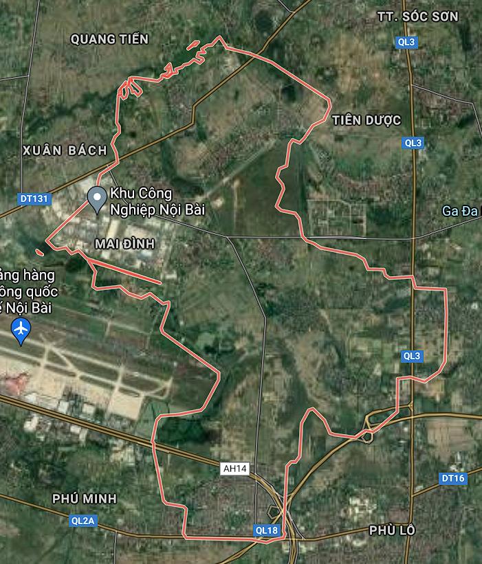 Kế hoạch sử dụng đất xã Mai Đình, Sóc Sơn, Hà Nội năm 2021 - Ảnh 1.