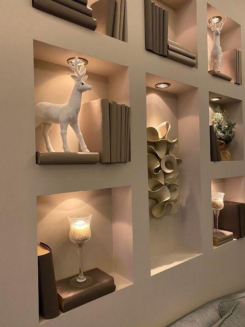 5 ý tưởng trang trí hốc âm tường phòng khách ấn tượng, đầy sáng tạo - Ảnh 6.