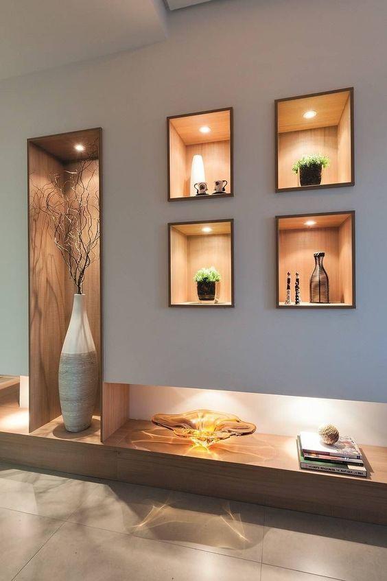 5 ý tưởng trang trí hốc âm tường phòng khách ấn tượng, đầy sáng tạo - Ảnh 5.