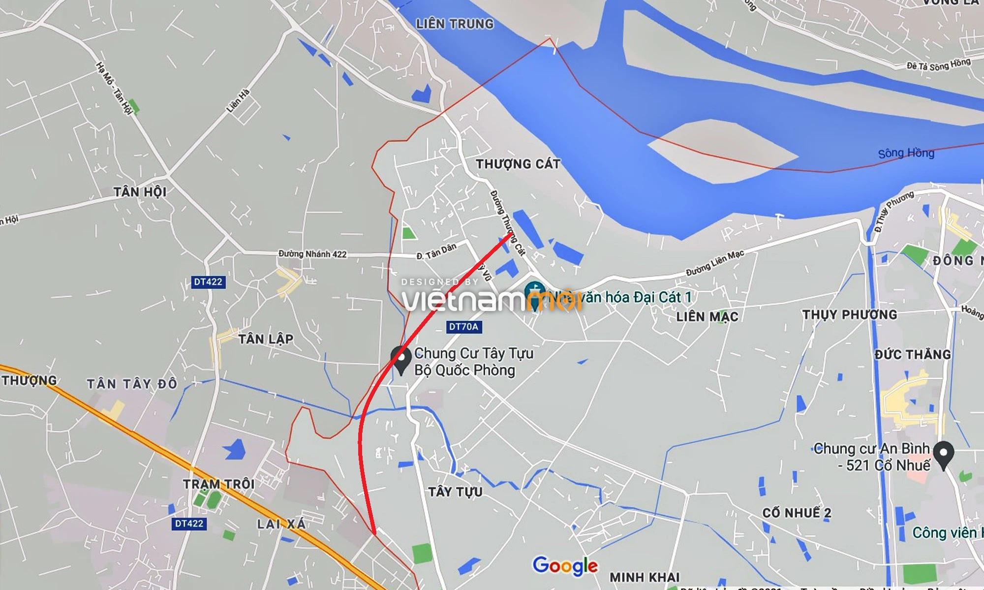 Đường Vành đai 3,5 sẽ mở theo quy hoạch qua quận Bắc Từ Liêm, Hà Nội - Ảnh 1.