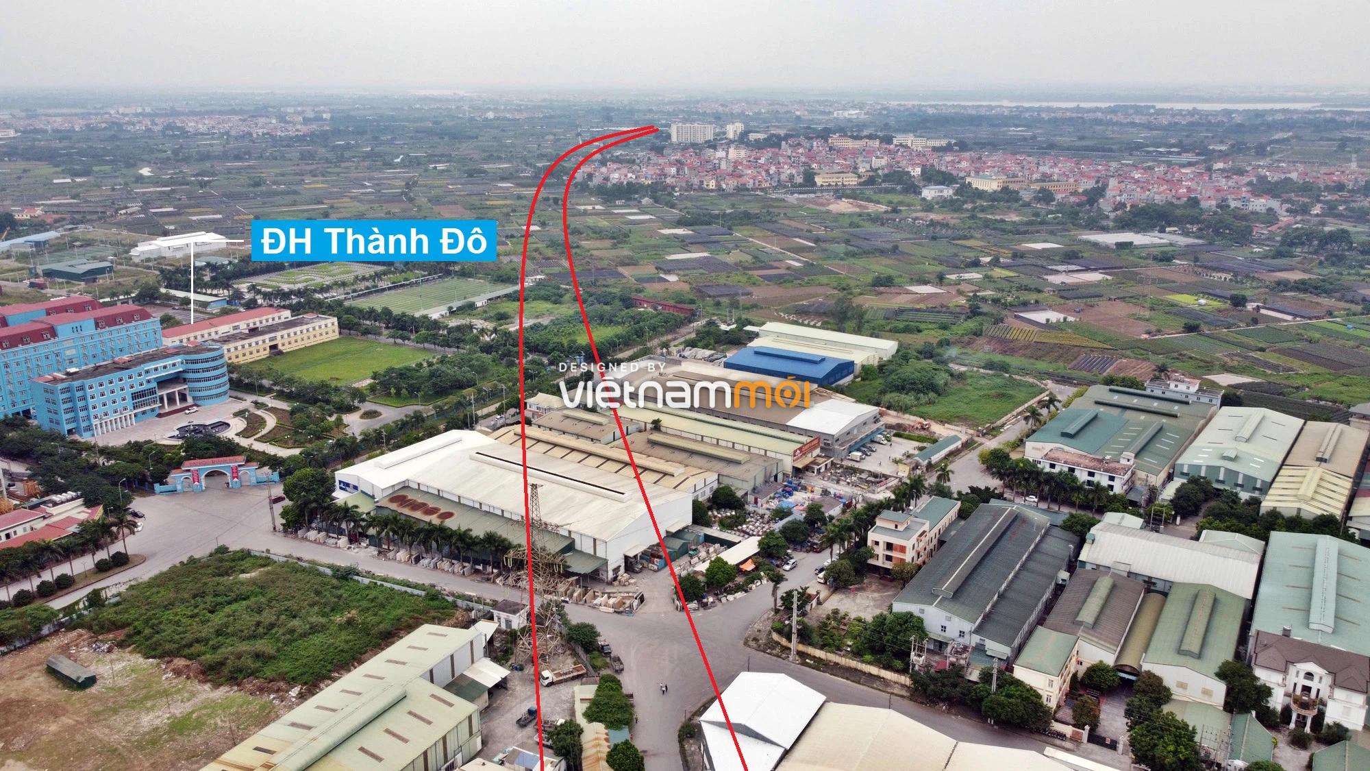 Đường Vành đai 3,5 sẽ mở theo quy hoạch qua quận Bắc Từ Liêm, Hà Nội - Ảnh 3.