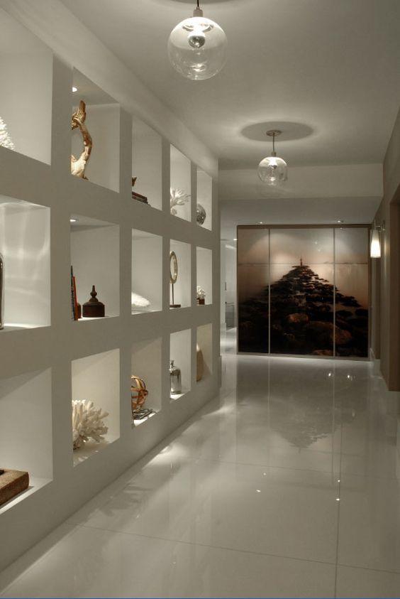 5 ý tưởng trang trí hốc âm tường phòng khách ấn tượng, đầy sáng tạo - Ảnh 4.