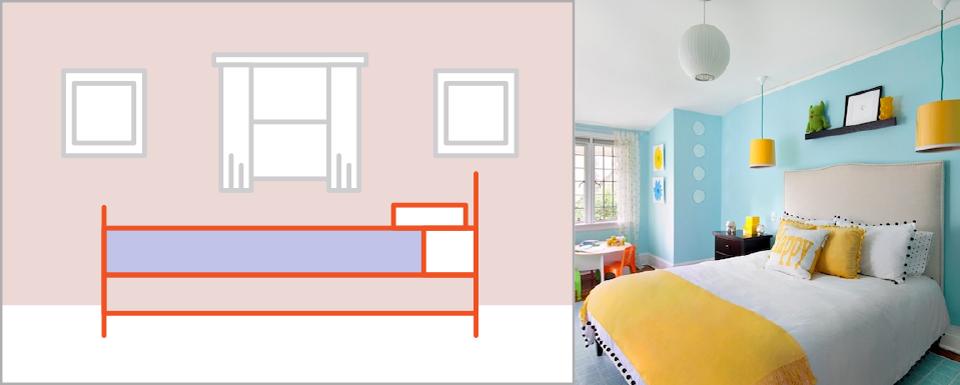 Bật mí những cách đơn giản để làm cho phòng ngủ rộng rãi hơn - Ảnh 1.