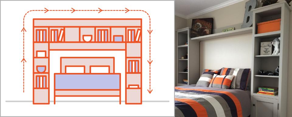 Bật mí những cách đơn giản để làm cho phòng ngủ rộng rãi hơn - Ảnh 7.