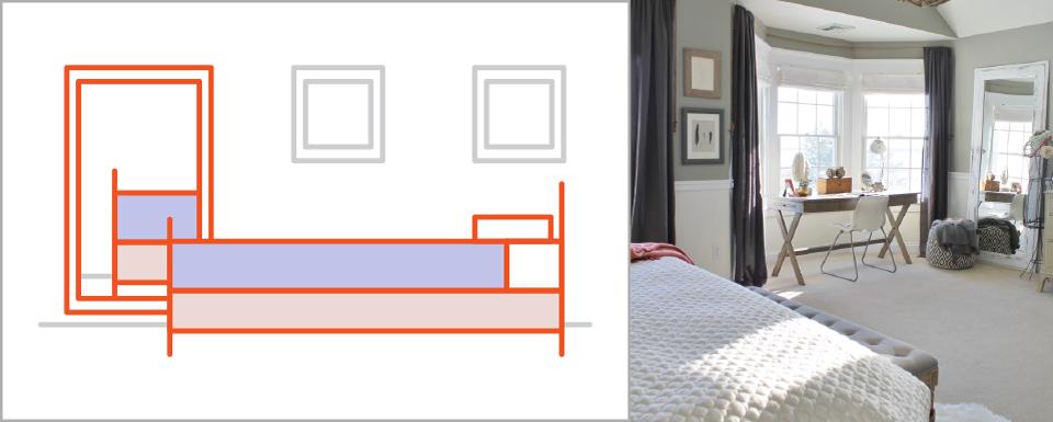 Bật mí những cách đơn giản để làm cho phòng ngủ rộng rãi hơn - Ảnh 13.