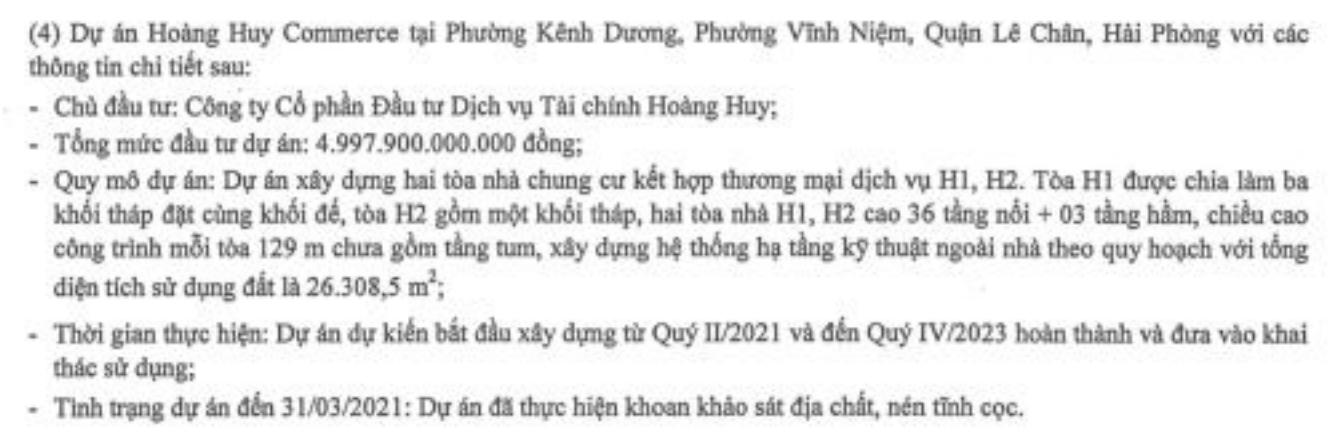 Tài chính Hoàng Huy khởi công dự án 5.000 tỷ tại Hải Phòng - Ảnh 2.