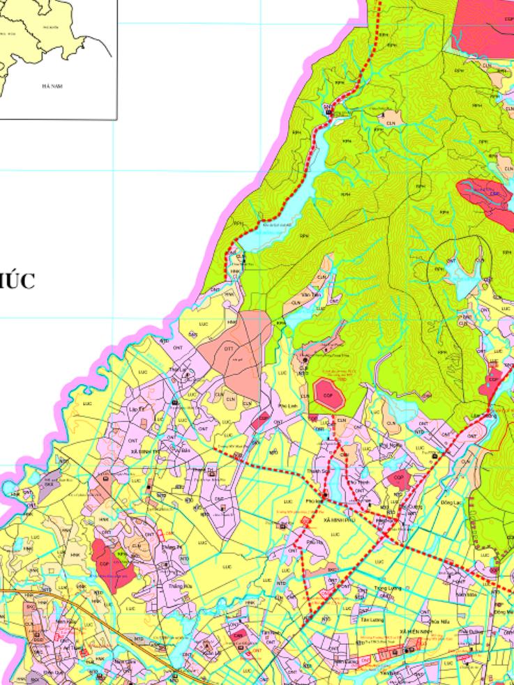 Bản đồ quy hoạch giao thông xã Minh Trí, Sóc Sơn, Hà Nội - Ảnh 2.