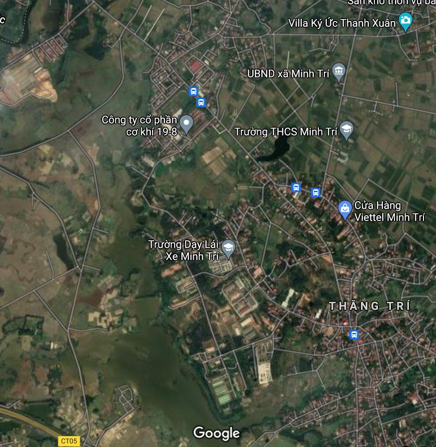 Đất dính quy hoạch ở xã Minh Trí, Sóc Sơn, Hà Nội - Ảnh 2.