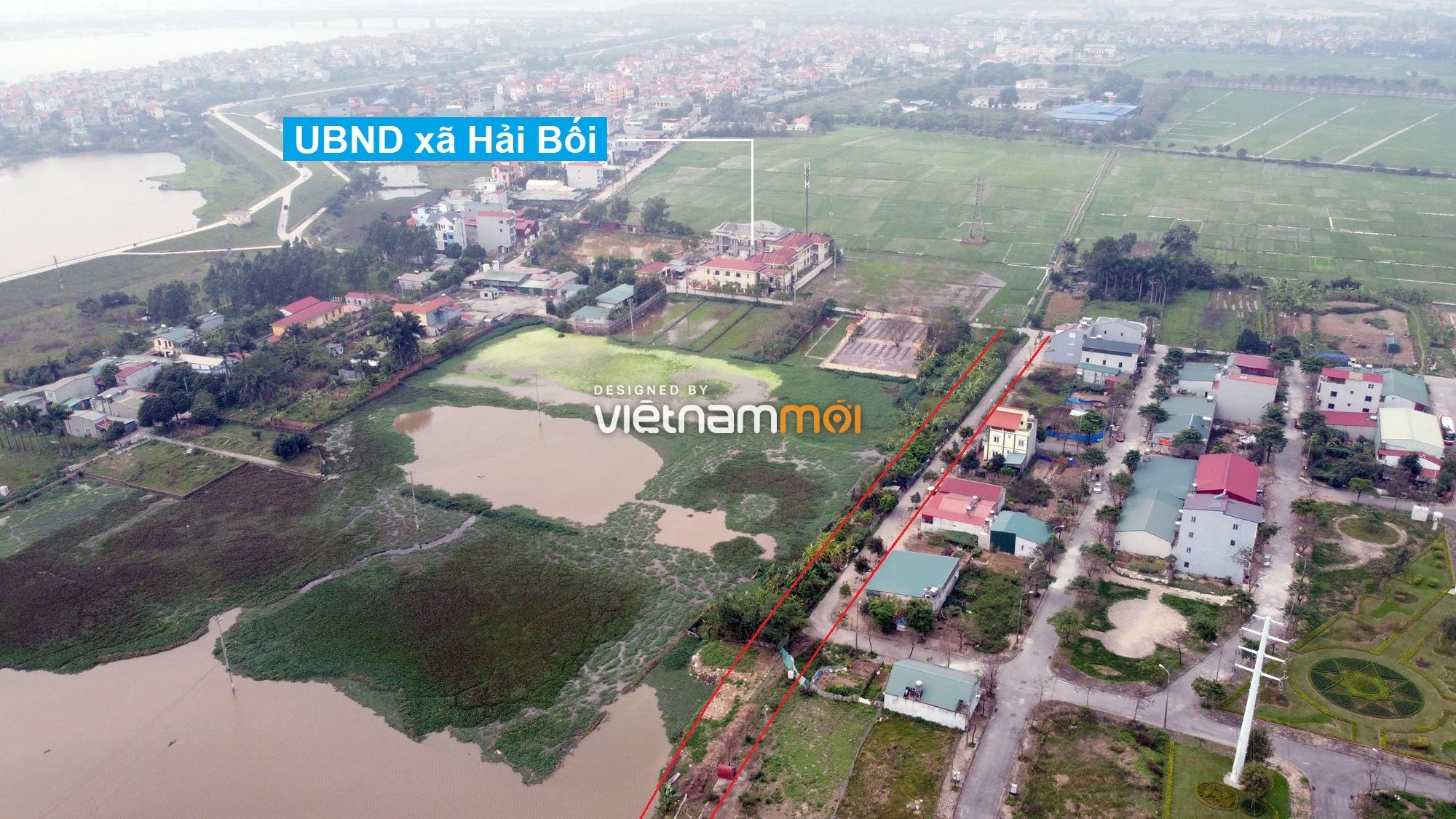Đường sẽ mở theo quy hoạch ở xã Hải Bối, Đông Anh, Hà Nội (phần 5) - Ảnh 2.