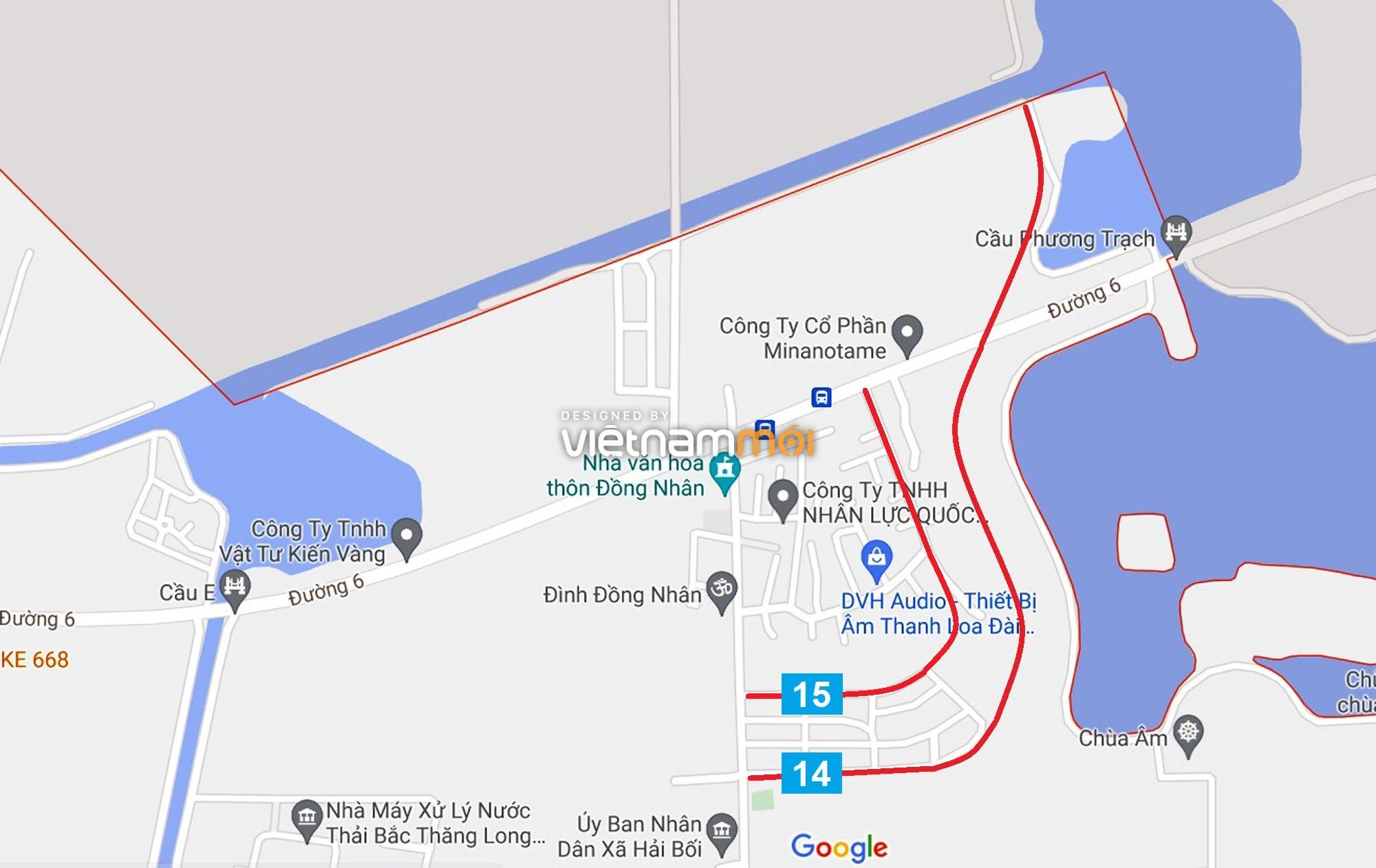 Đường sẽ mở theo quy hoạch ở xã Hải Bối, Đông Anh, Hà Nội (phần 5) - Ảnh 5.